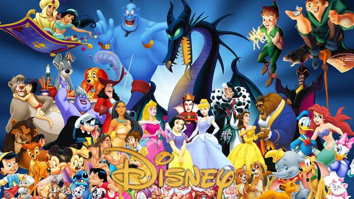 El antes y el ahora de los personajes de Disney