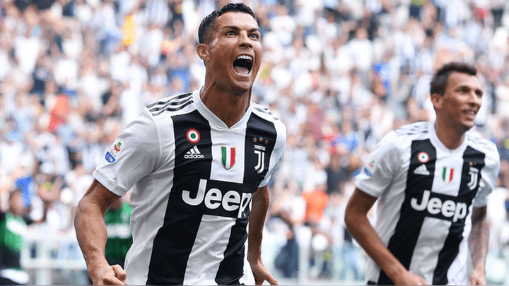 Image result for Cristiano ronaldo vs Sassuolo