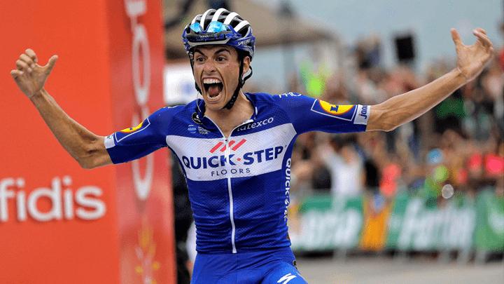Enric Mas terminó en segundo lugar de la Vuelta a España.