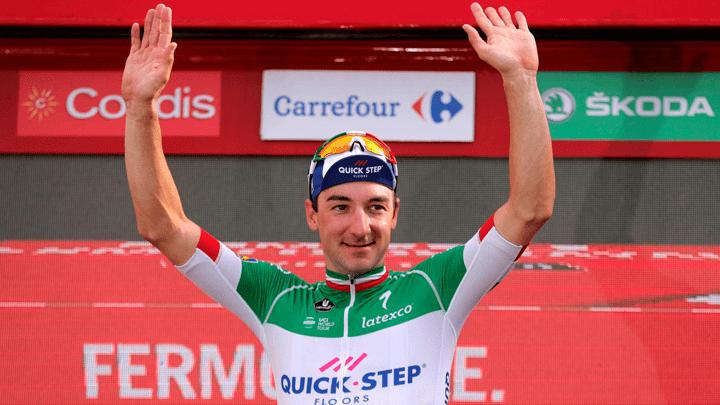 Elia Viviani ganó la etapa 21 de la Vuelta a España.