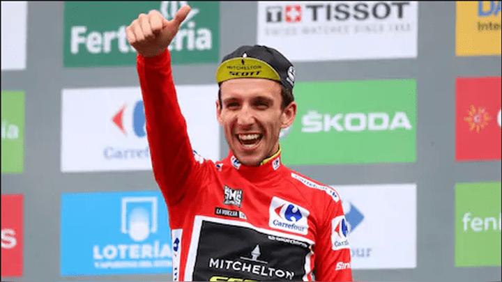 Simon Yates, vencedor absoluto de La Vuelta a España 2018.