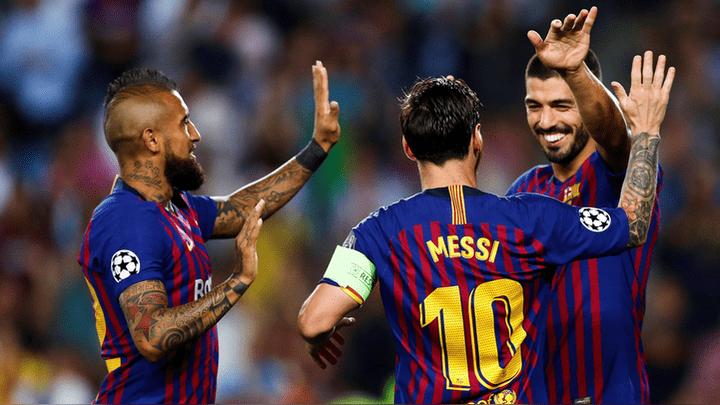 Barcelona debutó goleando por 4-0 al PSV en la Champions League.
