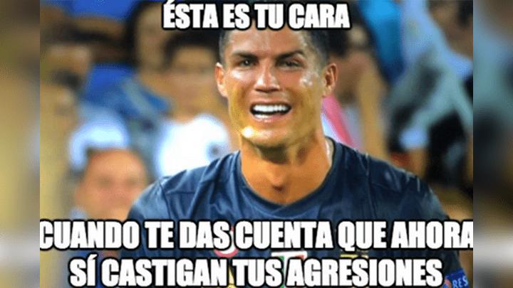 Facebook Cristiano Ronaldo Y Los Divertidos Memes Tras Su Expulsion Del Juventus Vs Valencia De