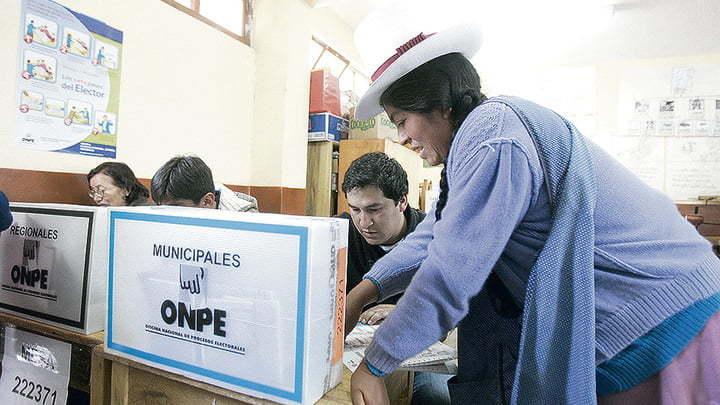 La ONPE informó que para esta fecha pondrán en marcha 80,940 mesas de sufragio que se instalarán en todo el país