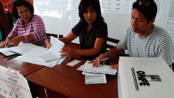 Según el portal web de la ONPE, los ciudadanos que no ejerzan su voto recibirán una multa escalonada conforme al nivel de pobreza del distrito.