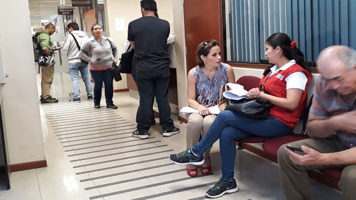 Carolina Castillo contó con el apoyo del Ministerio de la Mujer.