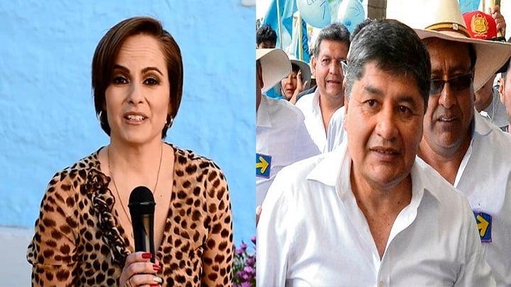 Candidato Rivera no podrá acercarse ni tener contacto alguno con la expresentadora de TV