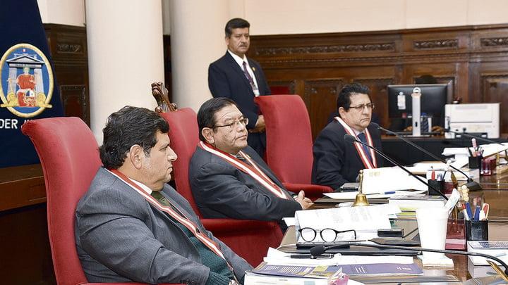 Sala especial. La Sala Penal Especial fue reestructurada tras la crisis de los audios de la corrupción.