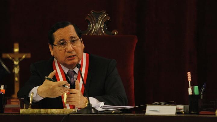 Advierten. Juez Núñez Julca fue amenazado en Internet.
