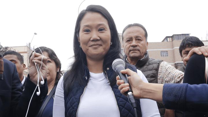 Keiko Fujimori se pronuncia sobre indulto a su padre