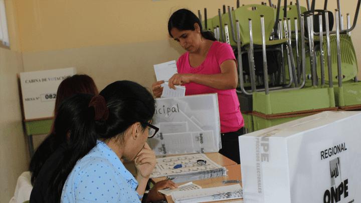 Solo tienes hasta las 4:00 p. m. para emitir tu voto responsable en las Elecciones Municipales 2018. Foto: Archivo