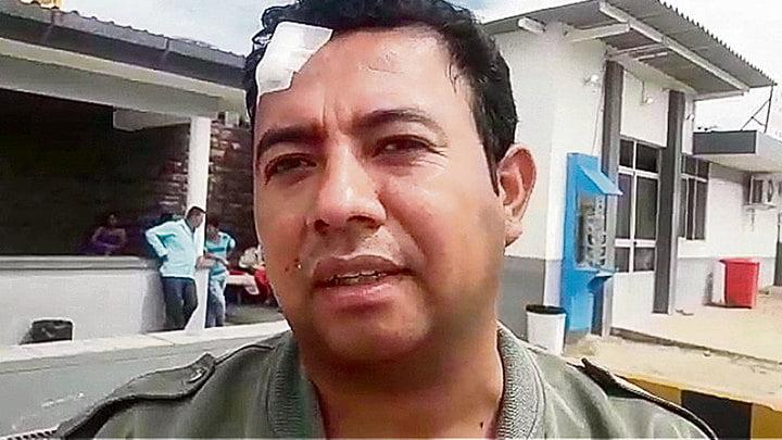 En Tumbes. Candidato José Carlos Salazar fue agredido.