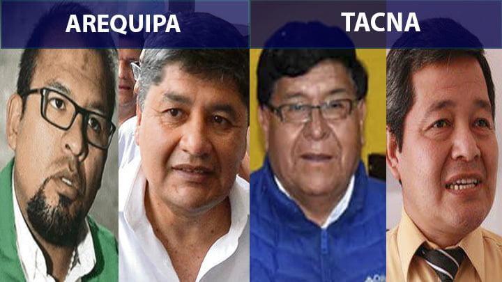 Elecciones en el Sur: En Arequipa y Tacna candidatos pelean voto a voto elección