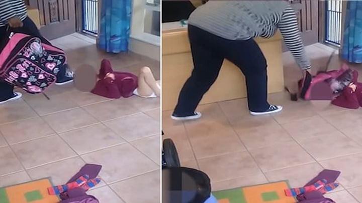 La responsable de una guardería propinó fuerte golpiza a una niña con discapacidad cuando descubrió que esta manchó su pañal.