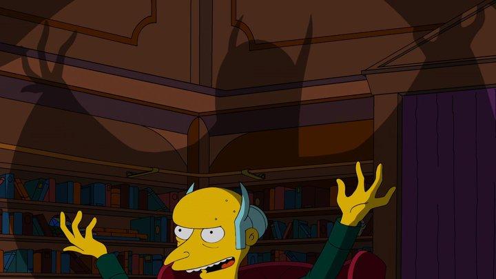 """""""Smithers, ¿sabe cuántas mujeres me han rechazado? Ciento treinta. Pero sólo una desde que soy millonario. ¡Es la mujer perfecta! ¡¡Estoy enamorado!!""""."""