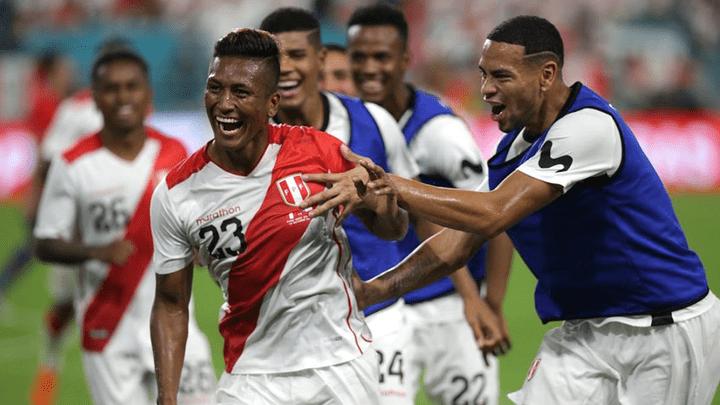 Pedro Aquino lleva tres goles en sus últimos tres partidos con la selección peruana.