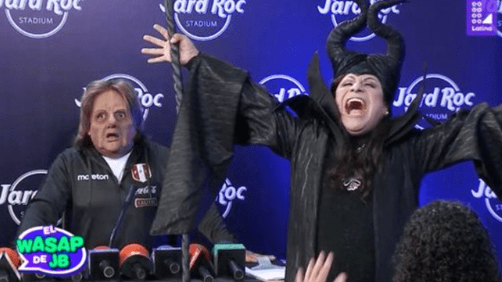 El Wasap de JB volvió a arrancar más risas que nunca. Foto: Captura Latina.