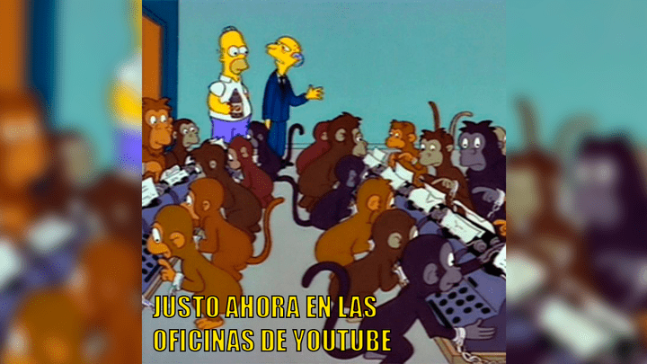 Usuarios crearon divertidos memes en redes sociales tras caída de YouTube. Foto: Difusión
