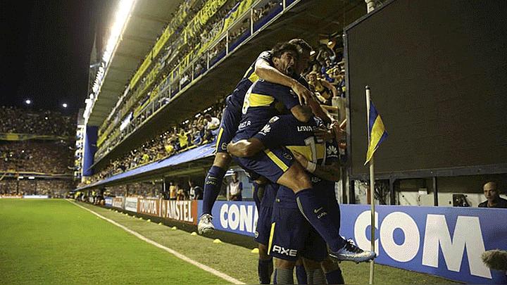 Boca con doblete de Benedetto venció a Palmeiras por la Copa Libertadores  166dad1b8e4d0