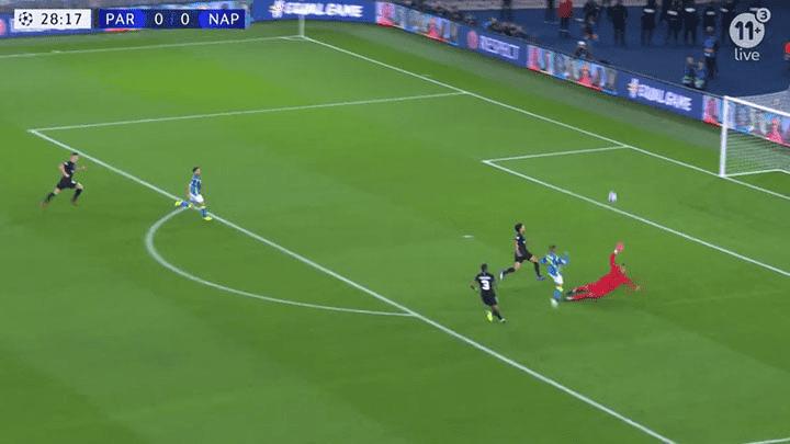 Youtube  PSG vs Napoli EN VIVO  VIDEO GOL de Lorenzo Insigne para el 1-0 por  Champions League vía ESPN  54418698b36b6
