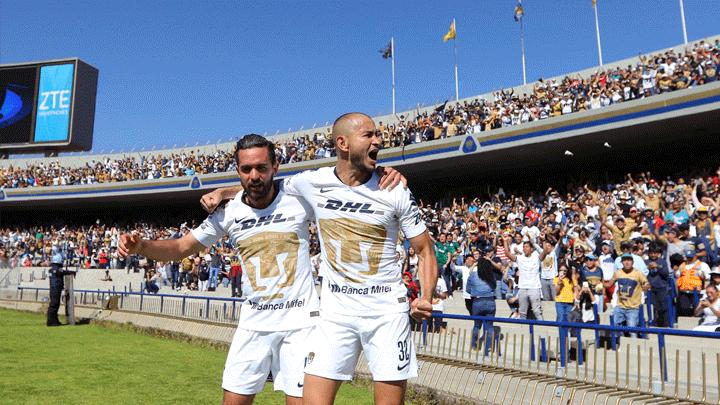 Pumas ganó 3-1 a Tigres y clasificó a semifinales de la Liguilla del Torneo  Apertura 2018 de la Liga MX  8f33b549d3d27