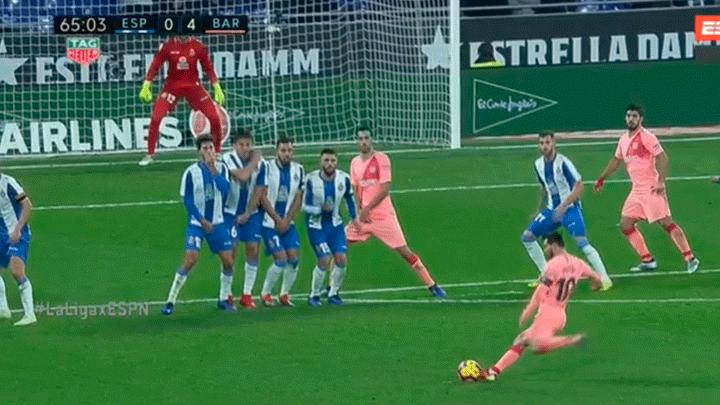 f14bb7bbc8 Youtube  Barcelona vs Espanyol HOY EN VIVO ONLINE  VIDEO GOL de Lionel  Messi para el 4-0 por Liga Santander 2018 por ESPN