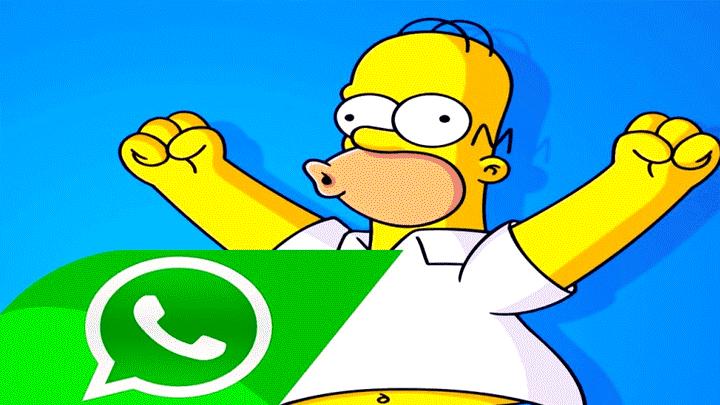 7aa51f12448e5 WhatsApp  conoce cómo obtener los stickers de los personajes de la serie   Los Simpsons