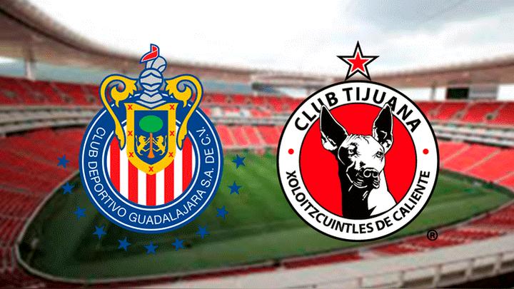 2f253463838d8 Chivas vs Tijuana EN VIVO ONLINE vía Univisión TDN  hora y canal donde ver  fecha 1 Liga MX Clausura 2019