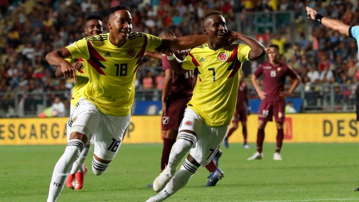 Venezuela perdió 2-0 frente a Colombia por la cuarta fecha del ...