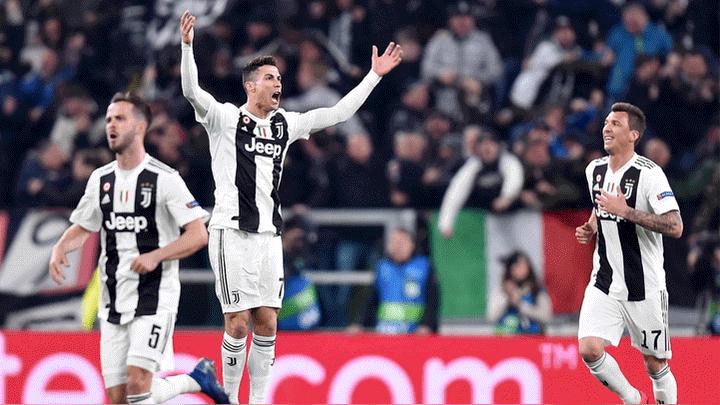 98951f08cf922 Juventus goleó 3-0 al Atlético Madrid con  hat trick  de Cristiano Ronaldo