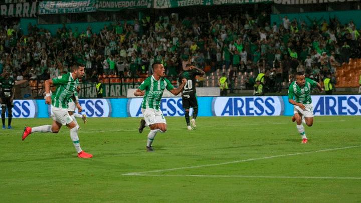 bca66df5e2966 Atlético Nacional vs Deportivo Cali  Verdolagas y Azucareros empataron 2-2  por la jornada 7 de la Liga Águila 2019 de Colombia