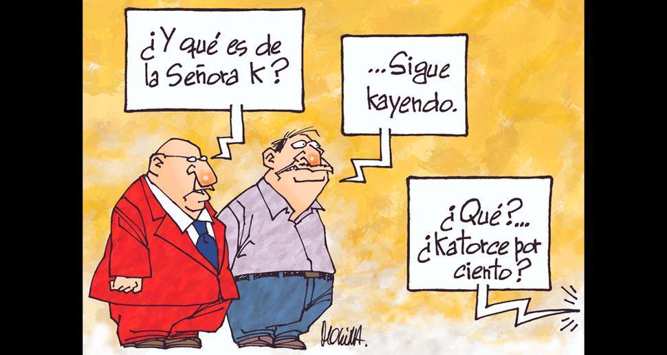 Caricatura de Molina del domingo 12 de agosto del 2018