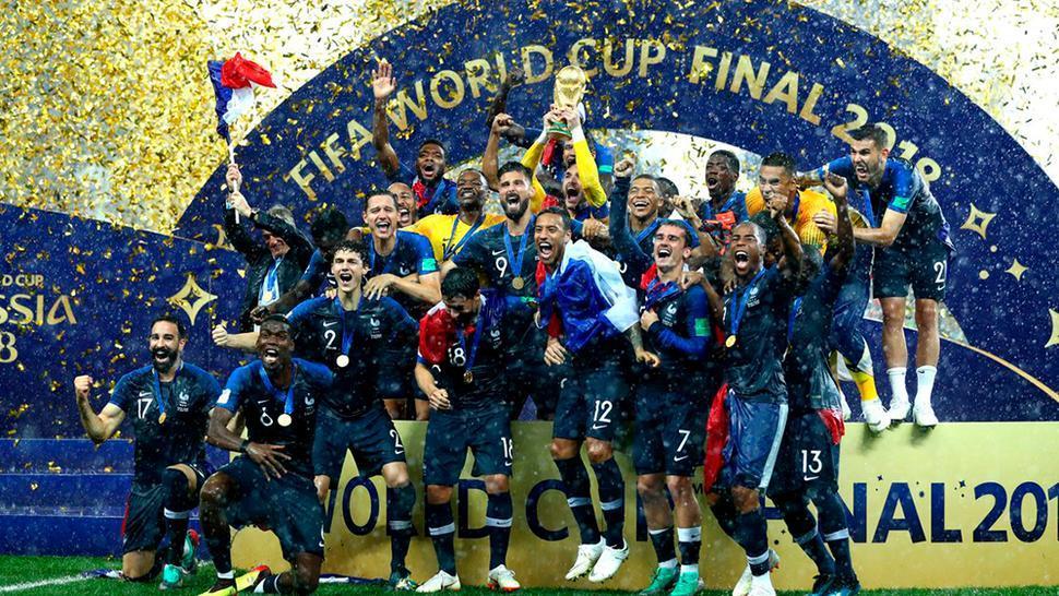 ¡Francia es campeón del Mundial Rusia 2018 tras vencer a Croacia!